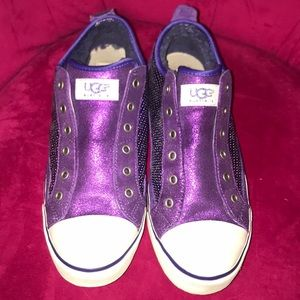 UGG Laela Sparkle Sneakers EUC 9.5